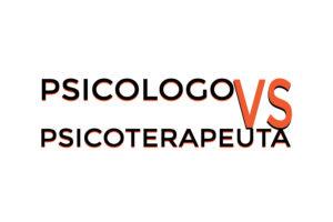 Psicologo vs psicoterapeuta